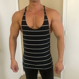 Black Striped Stringer, SeidWear